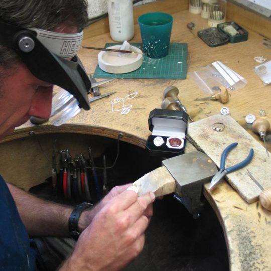 Custom Made Irish Coat of Arms Jewellery